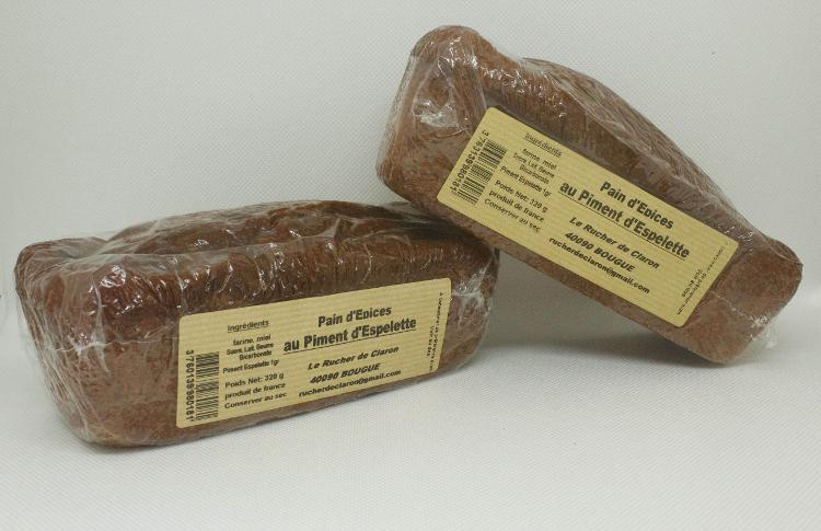 Les Ruchers de Claron - Pain d'épices PIMENT
