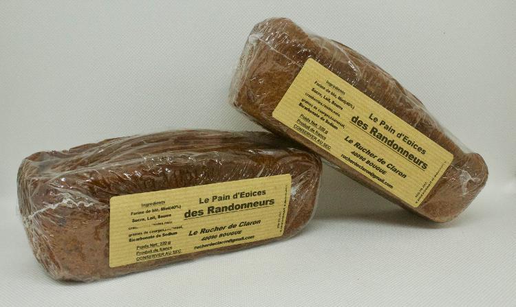 Les Ruchers de Claron - Pain d'épices DU RANDONNEUR