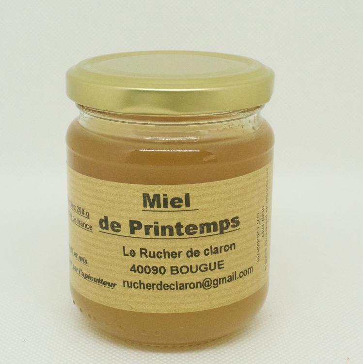 Les Ruchers de Claron - Miel de PRINTEMPS 250 GR