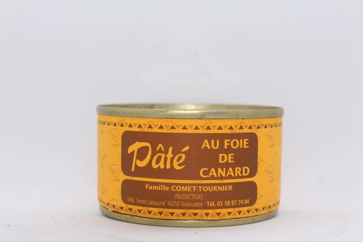 Pâté au foie gras de canard  - 120g