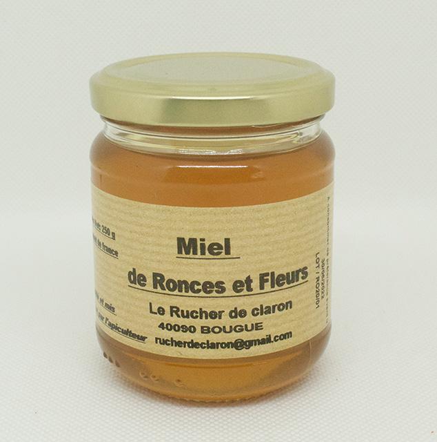 Les Ruchers de Claron - Miel de RONCE 250 GR