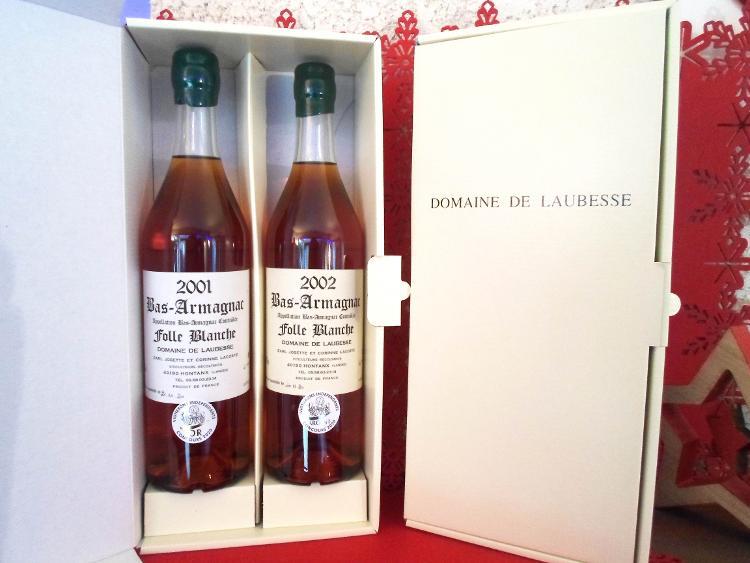 Domaine de Laubesse - Coffret MILLESIMES FOLLE BLANCHE
