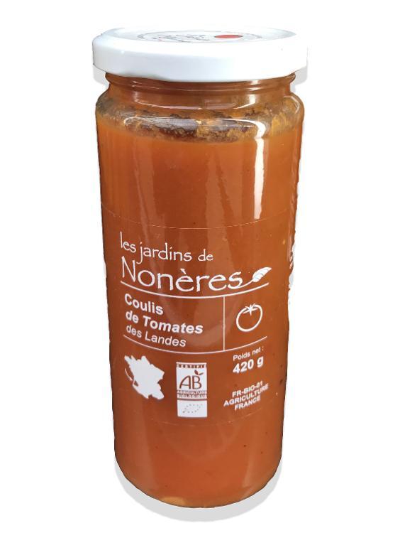 Conserves coulis de tomates  420 gr Bio