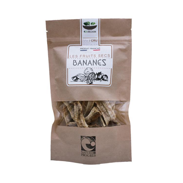 Bananes séchées 100g