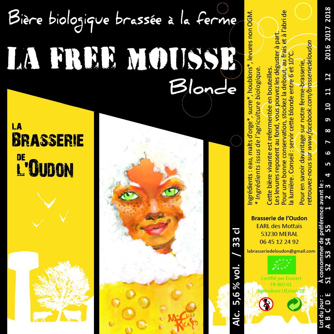 La Free Mousse Blonde 75 cl