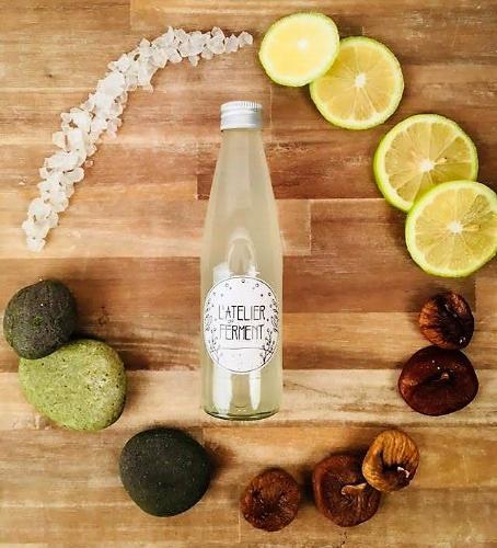 Kéfir de Fruit Citron & Figue