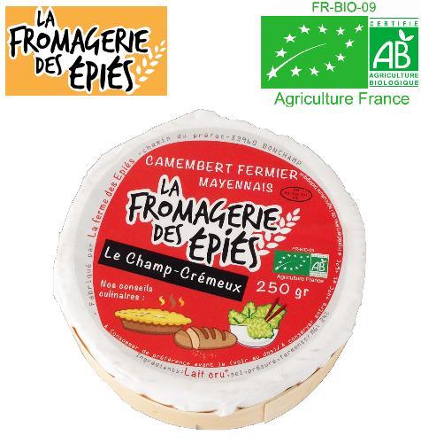 """Camembert """"Le Champ-Crémeux"""" (jeune)"""