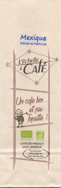 Café Tôpette Bio Mexique moulu 250 G (angers)