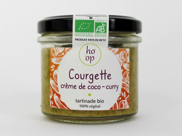 Tartinade Courgette Coco Curry - HO'OP