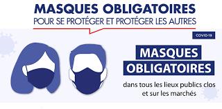 Réglementation sur le port du masque en extérieur dans le département de l'Hérault
