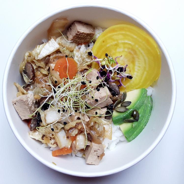 Bowl repas complet Bio - 1 pers