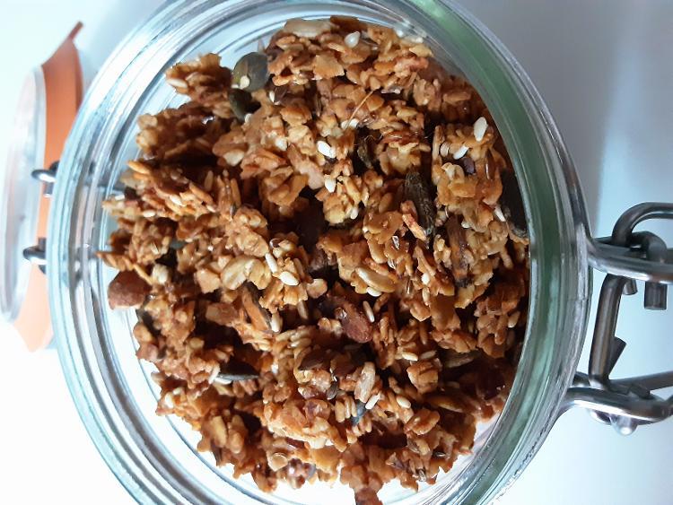 Mettre du croquant avec ce granola salé 150 gr