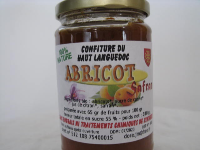 CONFITURE D'ABRICOT 330G