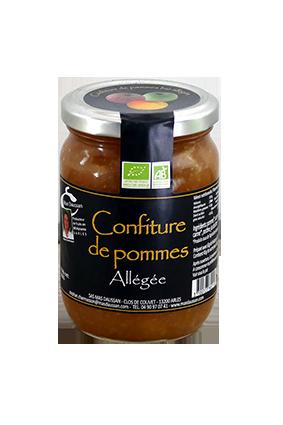 CONFITURE DE POMMES ALLEGEE 300G