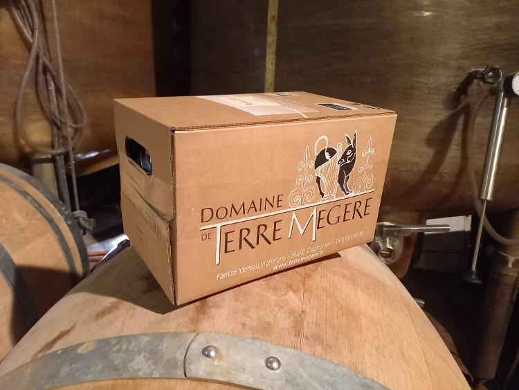 Bag in box rosé 5 litres Vin biologique