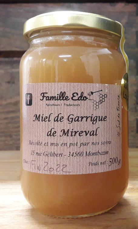 MIEL DE GARRIGUE DE MIREVAL