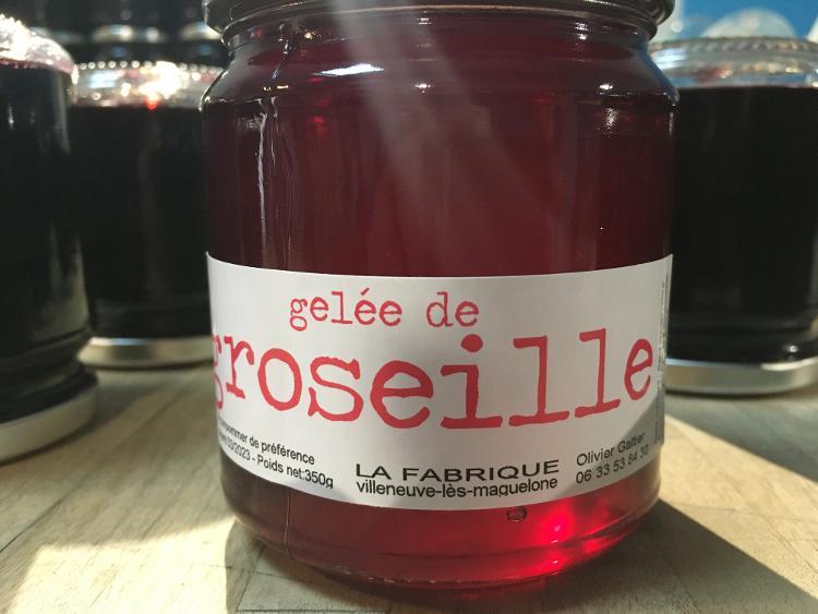 GELEE DE GROSEILLE