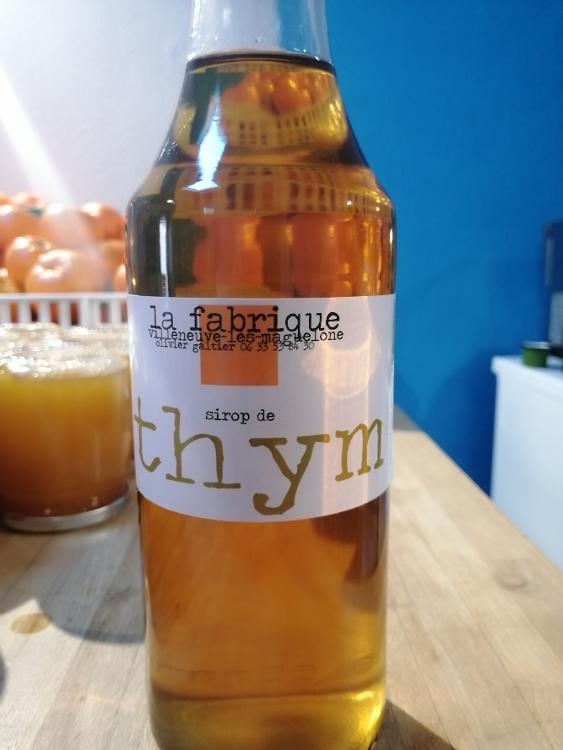 SIROP DE THYM