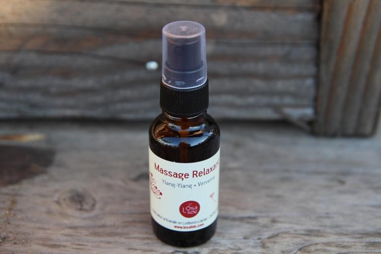 Huile de massage Ylang Ylang