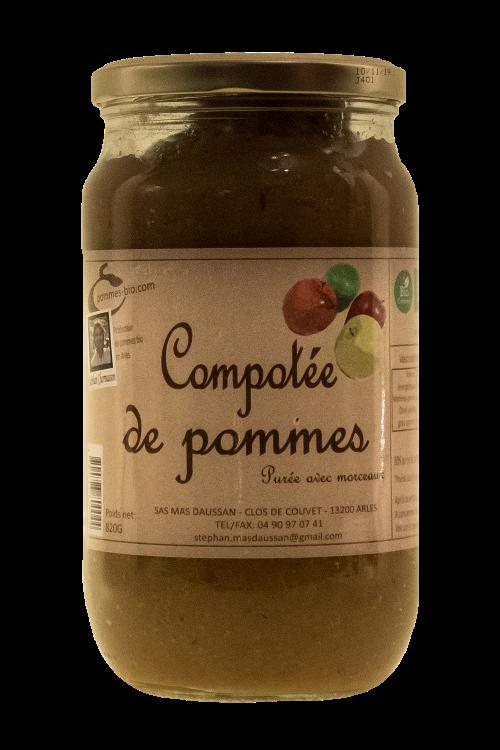 COMPOTÉE DE POMMES 820GR