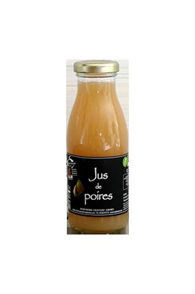 JUS DE POIRES BIO 25CL