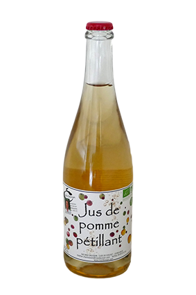 JUS DE POMME PETILLANT 75CL