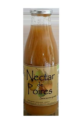 NECTAR DE POIRES SANS SUCRES AJOUTÉS 75CL