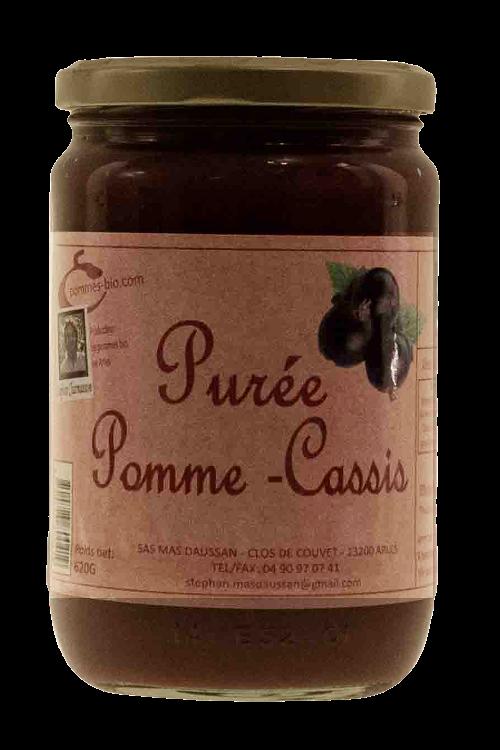 PURÉE DE POMMES CASSIS 620 GR