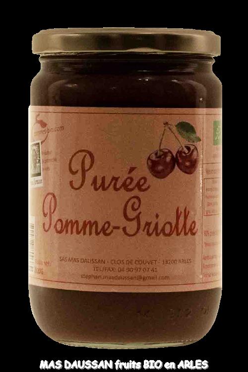 PURÉE DE POMME GRIOTTE 620 GR