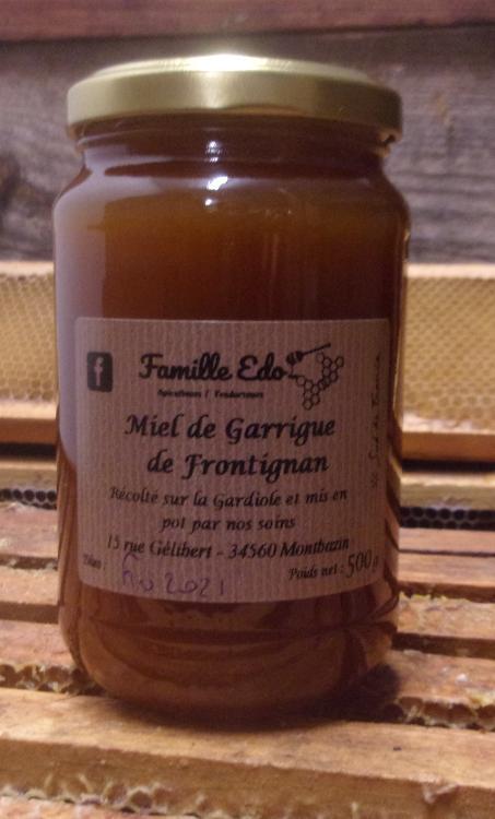 MIEL DE GARRIGUE DE FRONTIGNAN