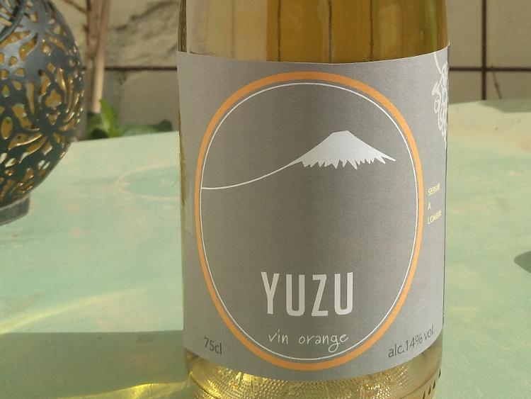"""Vin Orange """"YUZU"""" 75 cl"""