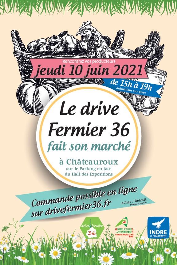 Le Drive Fermier 36 fait son marché
