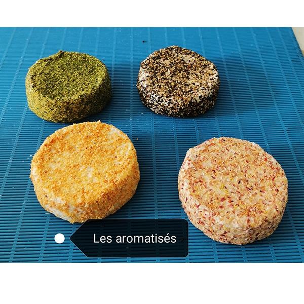 Spécialités (ronds) au poivre  FERME DE L'ETOURNEAU