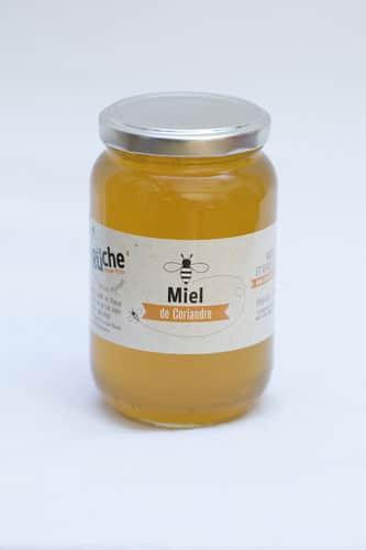 Miel de coriandre 500g LA RUCHE MARTIN