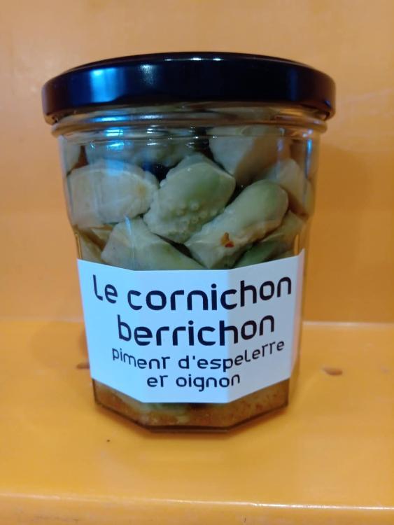 Cornichons piment d'espelette et oignons LES BOCAUX DE CARO