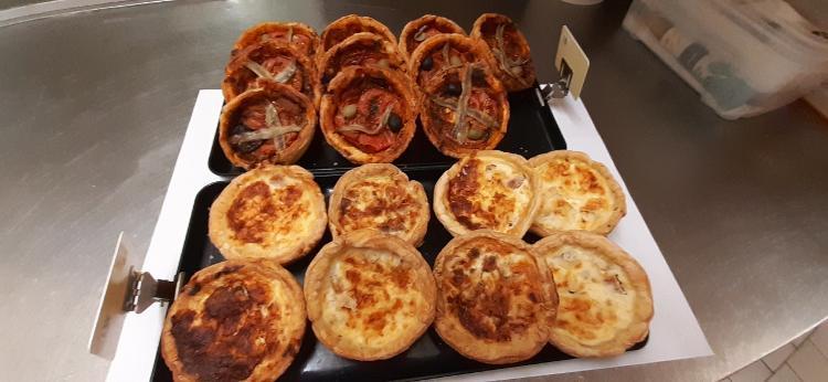 Nouveau produit: Pizza aux anchois