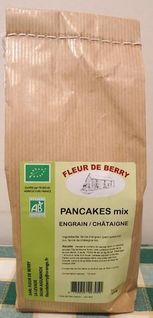 Farine pour pancakes (engrain/châtaigne) - SARL FLEUR DE BERRY