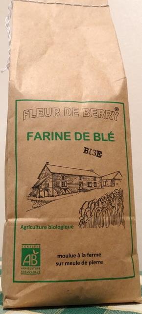 Farine blé ancien bise (type 80) - SARL FLEUR DE BERRY