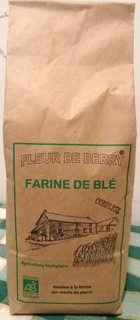 Farine blé ancien complète (type110) - SARL FLEUR DE BERRY