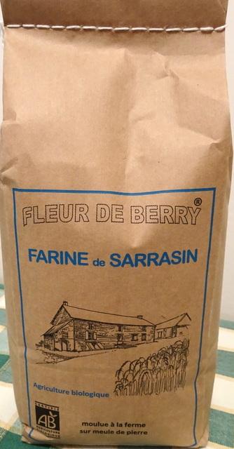 Farine de sarrasin - SARL FLEUR DE BERRY