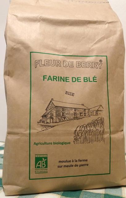Farine blé ancien bise (type80) - SARL FLEUR DE BERRY