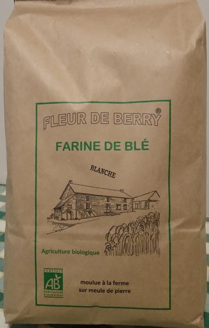 Farine blé ancien blanche (type 65) - SARL FLEUR DE BERRY