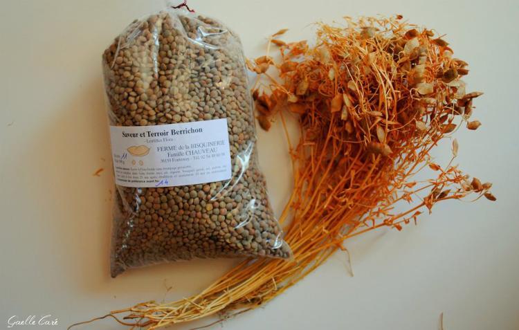 Lentilles flora 500 g MAISON CHAUVEAU