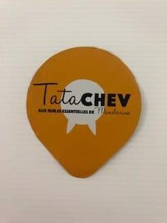 Yaourt de chèvre mandarine 125 gr TATA CHEV'