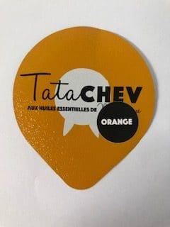 Yaourt de chèvre Orange 125 gr TATA CHEV'