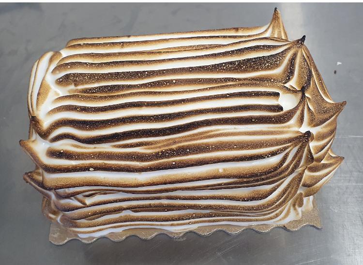 Omelette norvégienne 4/5 personnes Vanille / caramel beurre salé