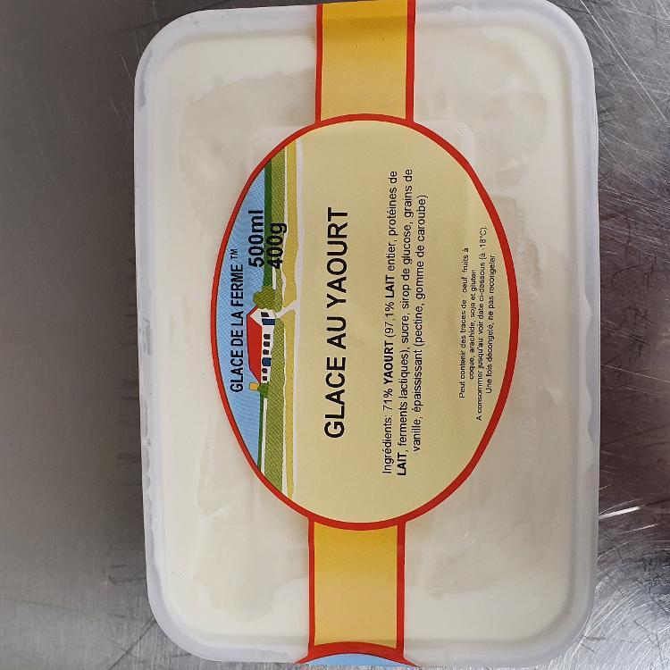 Glace yaourt nature 500ml