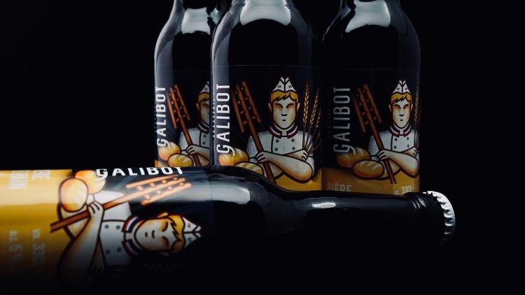 Bière Galibot - Pain