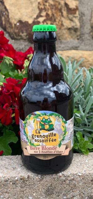 Bière blonde aux trois houblons 33 cl