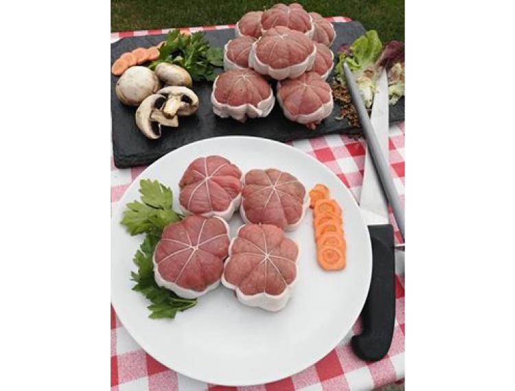 Paupiettes de veau par 4 (720 g)